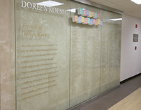 Friends of Doreen Koenig Donor Wall