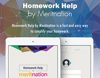 Homework Help UI for iPad