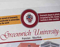 Greenwich University Newspaper Supplement & Magazine