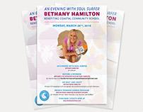 Bethany Hamilton Event Flyers