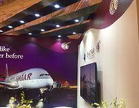 Exhibition Stall Design for Qatar Airways - 03