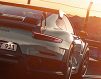 SUNSET RACE PORSCHE GT2RS 2018
