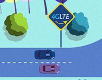 Tigo | Ruta vs Súper Carretera (4G vs 3G)