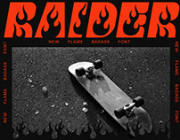 RAIDER - FREE FONT