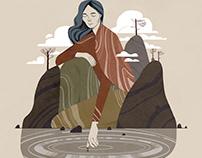 Mountain Woman / Женщина-гора