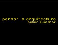 PENSAR LA ARQUITECTURA - T. Intervención 2015-1