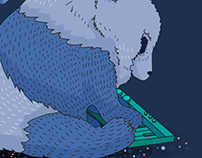 piano panda