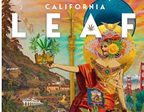 LEAF NATION Magazine Cover Designs 2019-2020