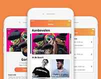 Tix: App Design