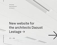 Daoust Lestage Website