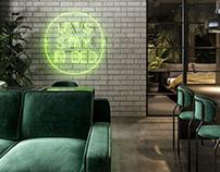 """Jungle Paradise"" Interior visualizations"