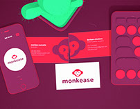 monkease - brand design