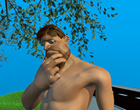 3D Animation - Wanted Gruff Miller