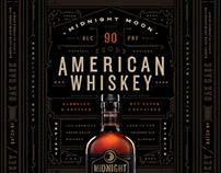 Midnight Moon Whiskey Branding & Packaging