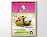 Diseño publicitario y editorial (Fit & Baked, 2014)