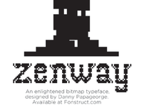 Zenway Typeface