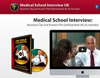 Medical School Interview UK Landing Page Website