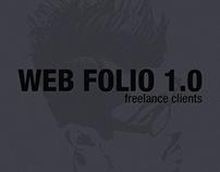 Web folio 1.0