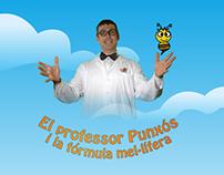 El professor Punxós i la fórmula mel·lifera