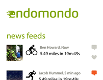 Endomondo for W8