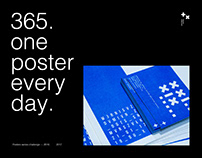 365 posters – One poster everyday.