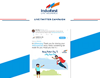 India First Twitter Campaign