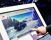 Subaru Autoshow Touch Kiosk