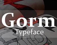 Gorm - Typeface