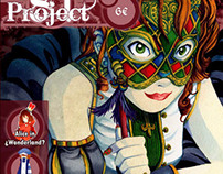 "Fanzine ""Project81"" Cover"