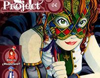 "Fanzine ""Project81"" Cover"