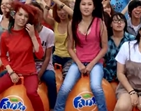 Fanta flashmob in almaty (shot&cut)