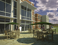 Physical Education Building Extension Rendering