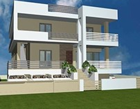 A remodeling proposal for a house in Patras.