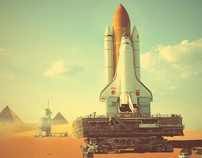 USSR-EGYPT Joint Space Mission