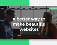 Origin - Creative Business Website