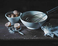 Food Photography-Making Pancakes-