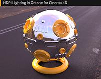 Lighting in Octane for Cinema 4D: HDRI