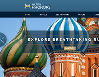 Hilton Eastern Europe website