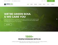 Green Soul - Environment & Non-Profit WordPress Theme