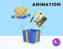 Gift Box Animation | After Effect