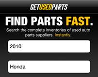 Get Used Parts iOS App