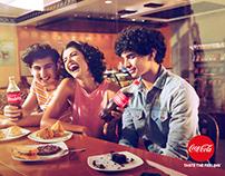 COLA COLA ad campaign 2018 -'Share a Coke'