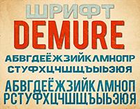 Font Demure