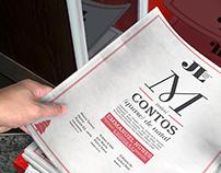 """rebrand newspaper """"JORNAL DE LETRAS, ARTES E IDEIAS"""""""