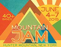 2015 Mountain Jam Festival Poster