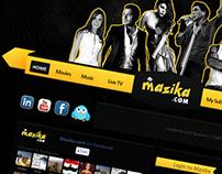 Mazzika Website
