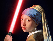 The Girl with the Lightsaber.