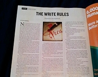 The Write Rules, Nature Journal, 2012