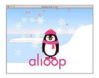 Animated Digital Holiday Card