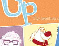 Ilustración para póster de Película Up